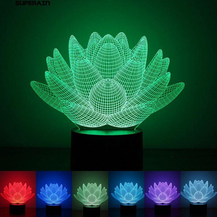 Untung Hingga 60 Dari Bisnis Lampu Akrilik Bentuk Bunga Berempat
